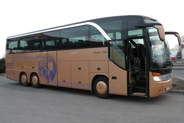 Autobusa noma Rīgā