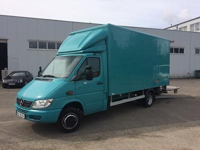 Transporta pakalpojumi ar kravas furgonu Rīgā