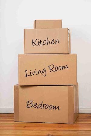 Pārvākšanās kartona kastes. Pārcelšanās kastes.