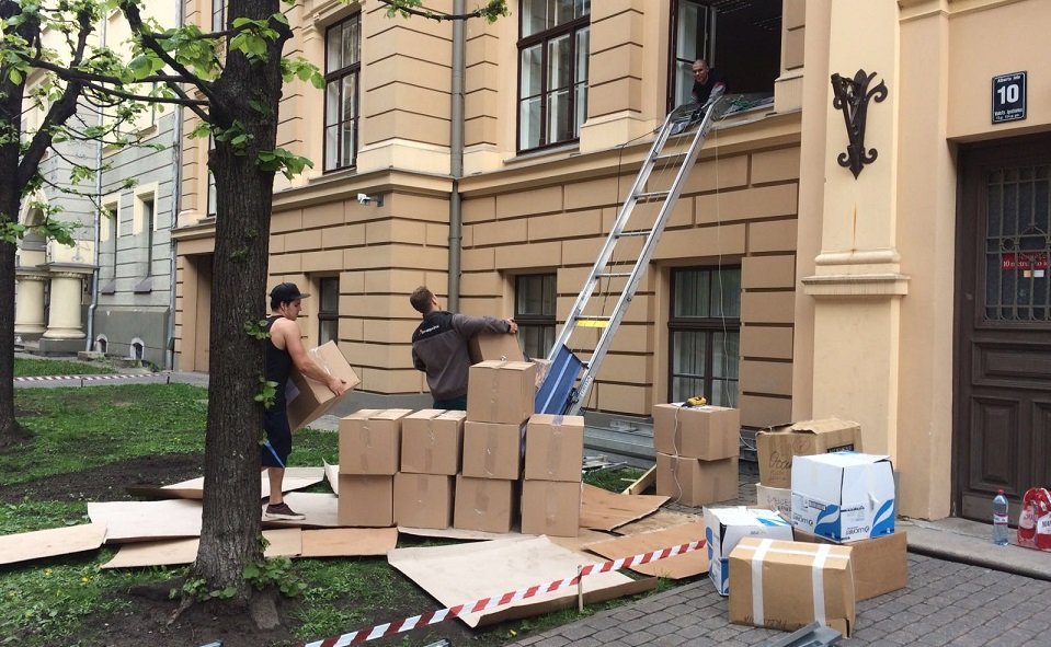 Biroja pārvietošanas pakalpojumi Rīgā