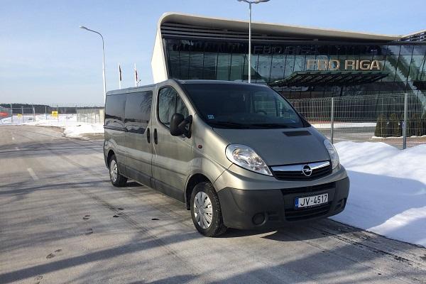 Bus rental services in Riga