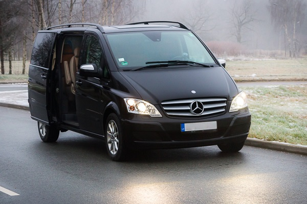 Minibus rental with driver in Riga